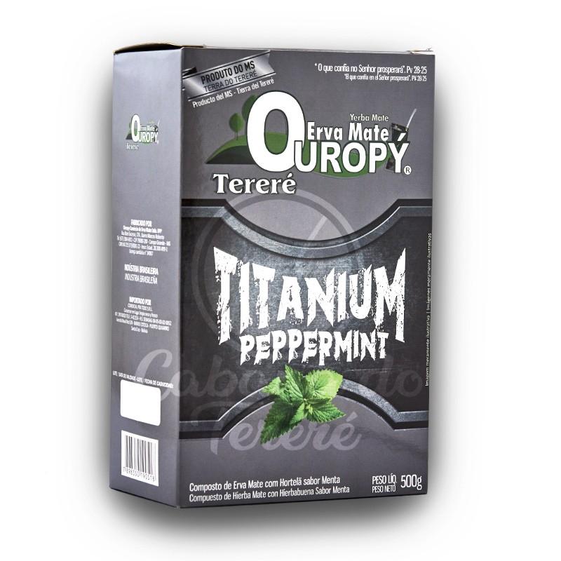 Erva Mate Ouropy - Titanium Peppermint 500G