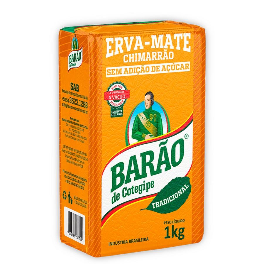 Erva para Chimarrão - Tradicional a Vácuo - Barão de Cotegipe 1Kg