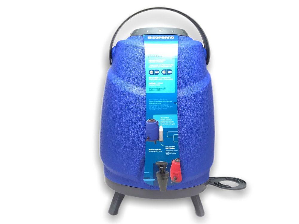 Garrafa Termica Botijao Estacionario Aspen 12L Azul