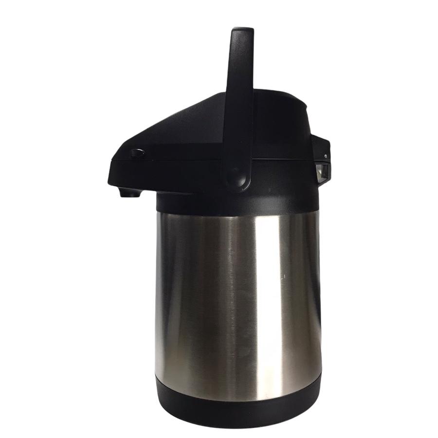 Garrafa Térmica INOX - Pressão - Vácuo - 2,5 Litros
