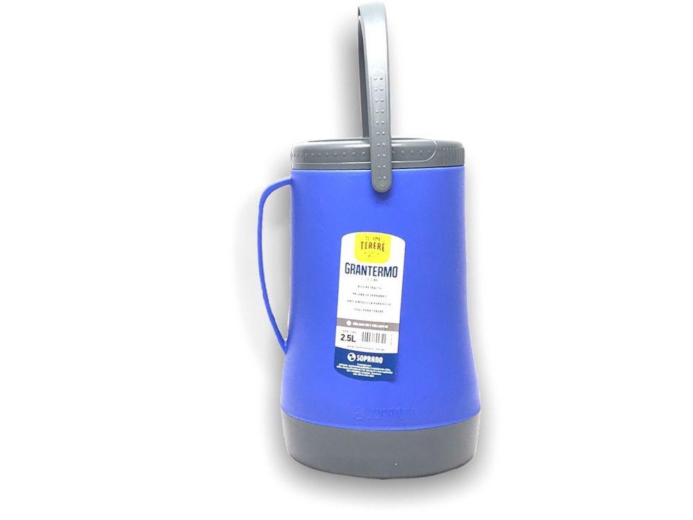 Garrafa Termica Recipiente Isotermico Grantermo 2,5L Azul