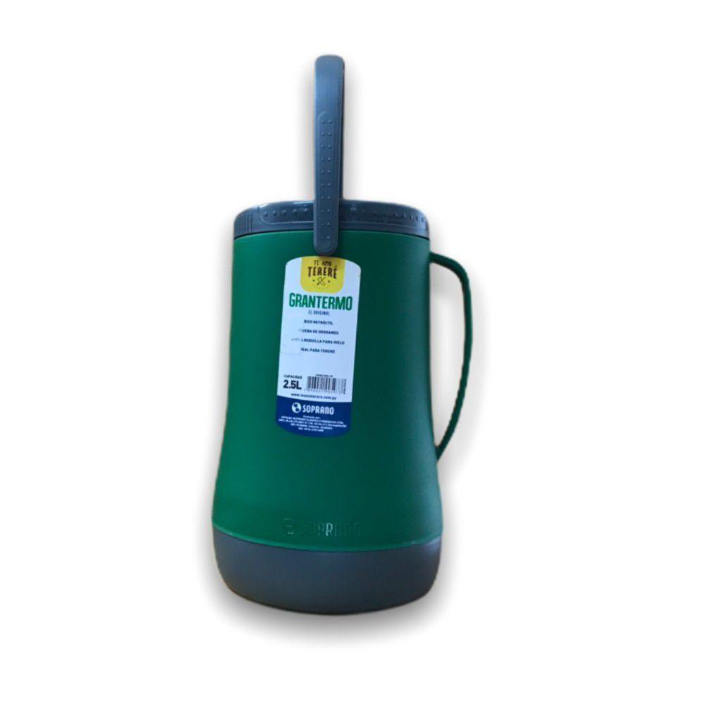 Garrafa Termica Recipiente Isotermico Grantermo 2,5L Verde