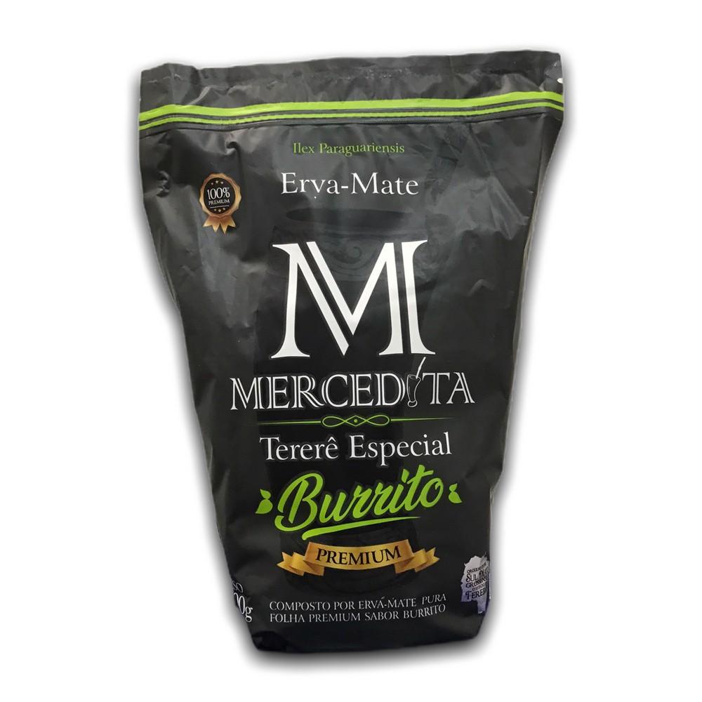 Mercedita - Erva para Tereré - Pura folha com Burrito 500G