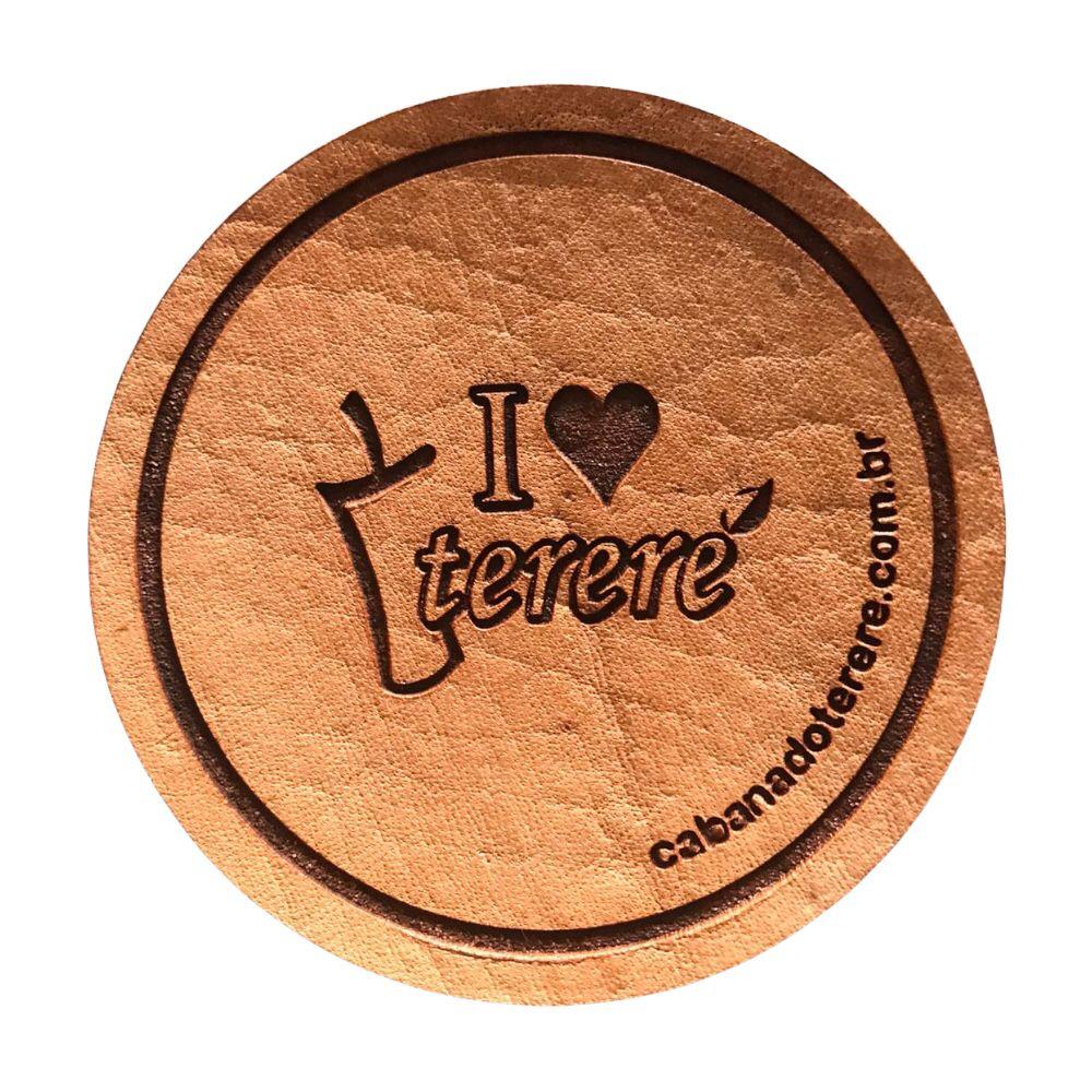 Porta Copo I Love Terere (unitário)