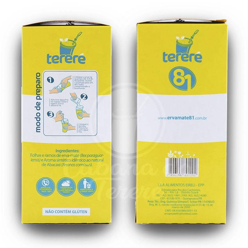 Terere 81 - Abacaxi 500G