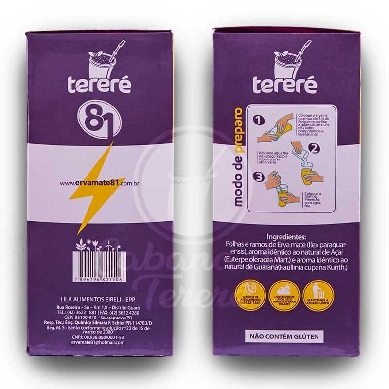 Terere 81 - Acai + Guarana - 500G