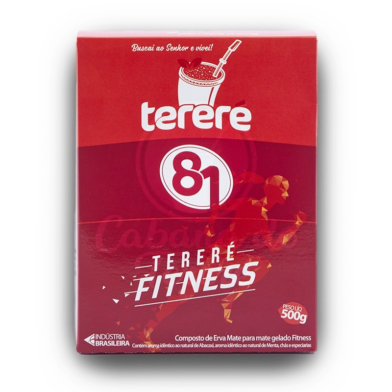 Terere 81 - Fitness Abacaxi (Rosa) - 500G