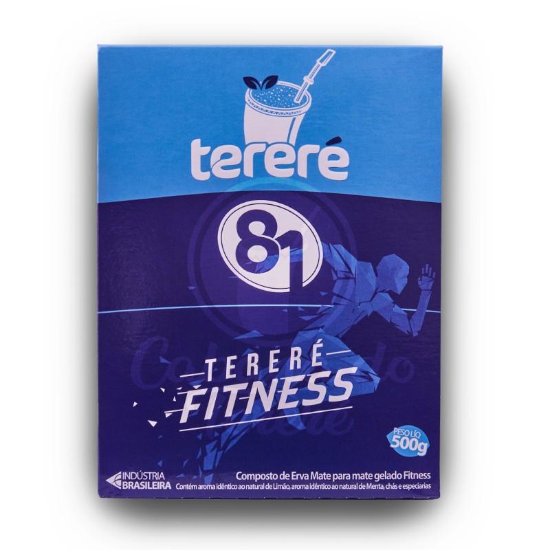 Terere 81 - Fitness Limao (Azul) - 500G