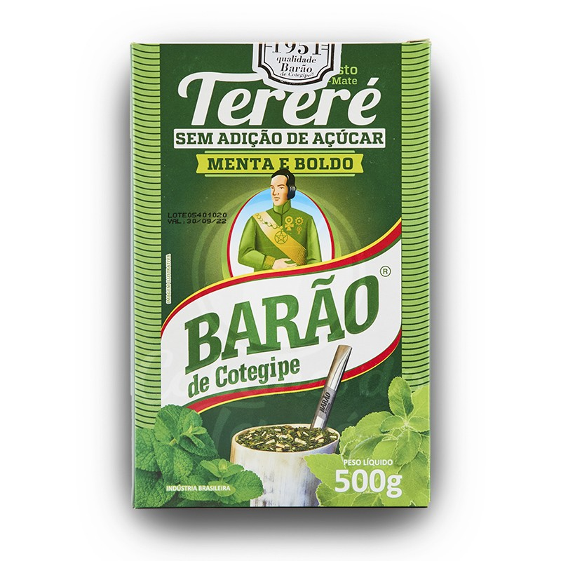 Terere Barao - Menta E Boldo 500G