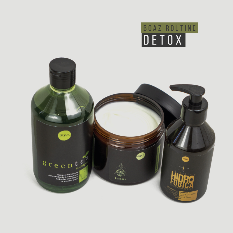CRONOGRAMA CAPILAR - Detox + brinde