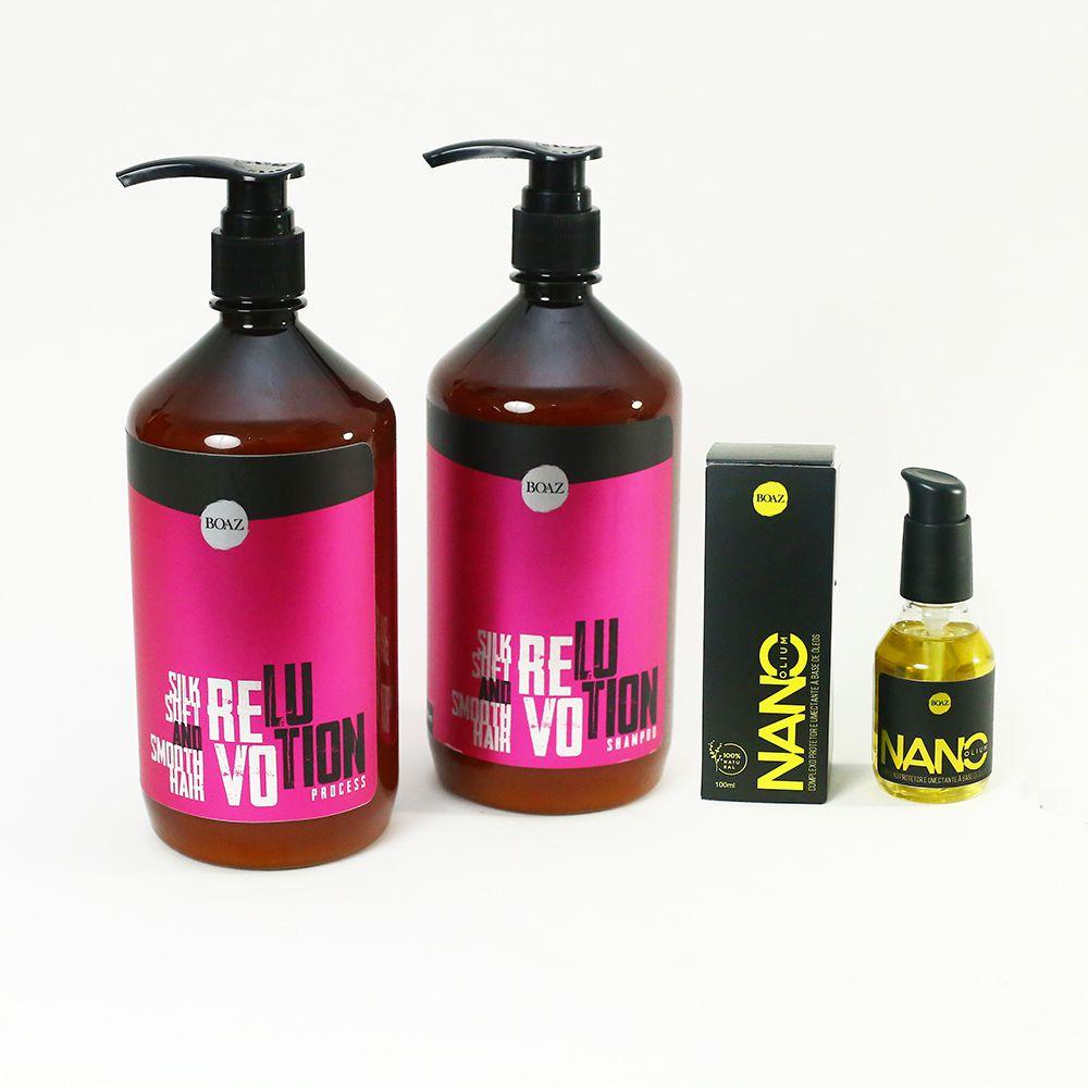 Revolution Process - Kit + Nano Olium - Boaz Hair