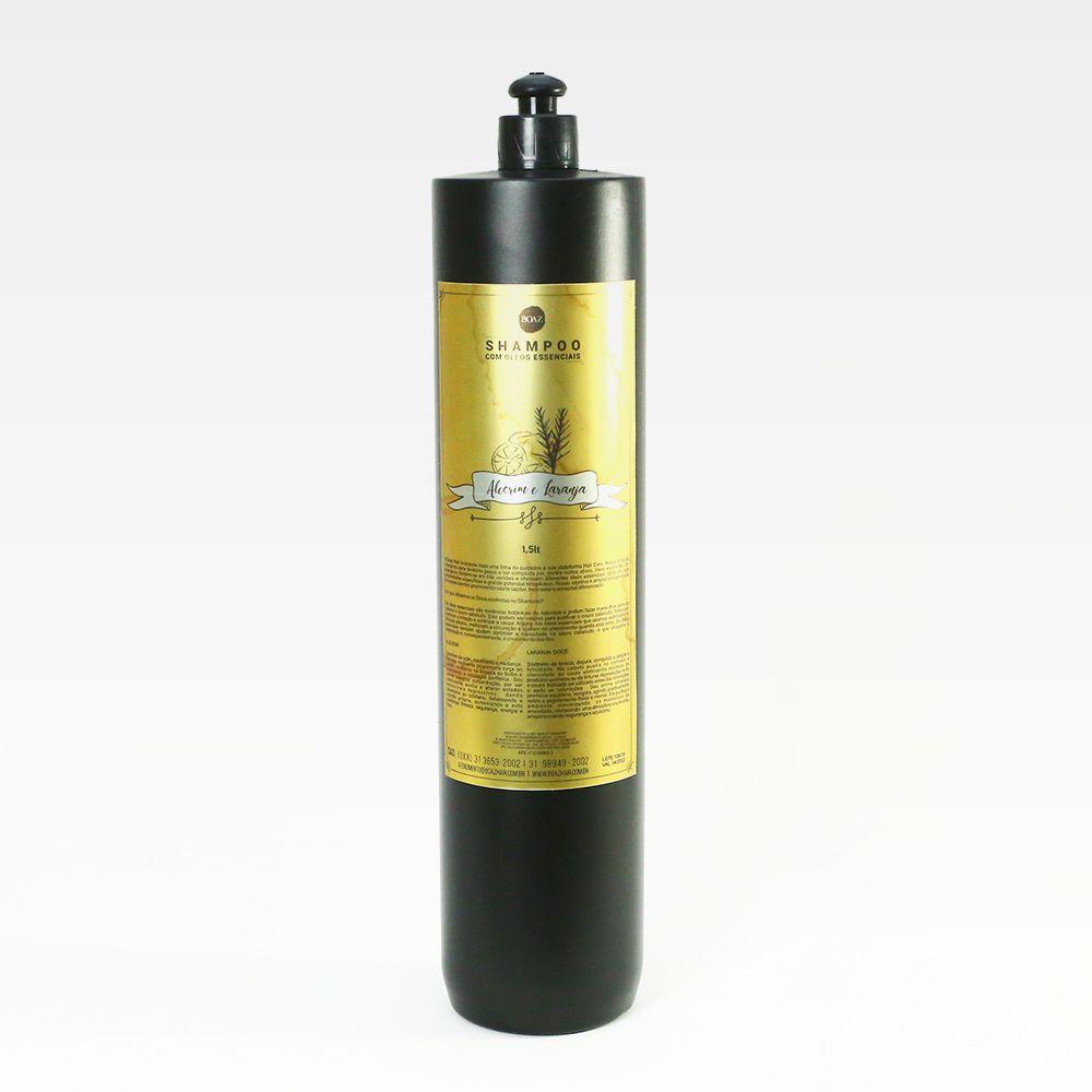 Óleos Essenciais - Shampoo de Alecrim & Laranja - Boaz Hair