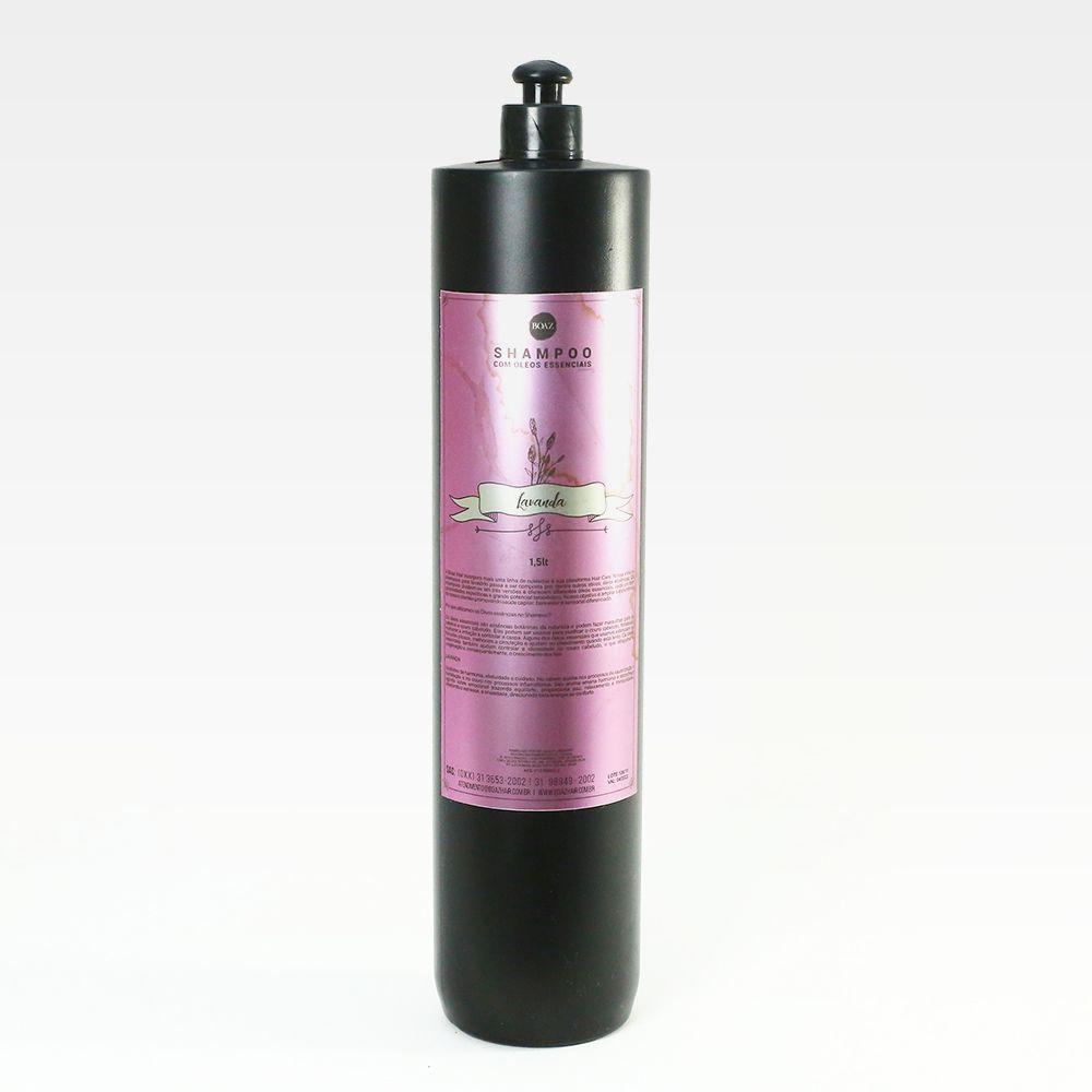 Óleos Essenciais - Shampoo de Lavanda - Boaz Hair