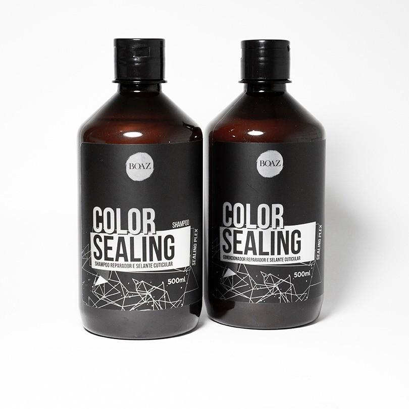 Color Sealing Kit Completo - Sealing Plex - Boaz Hair