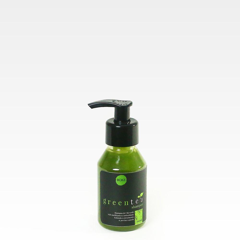 Shampoo GreenTea - Chá Verde - Boaz Hair