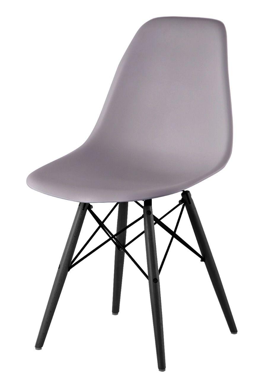 Cadeira Eames com Base Preta | Diversas Cores