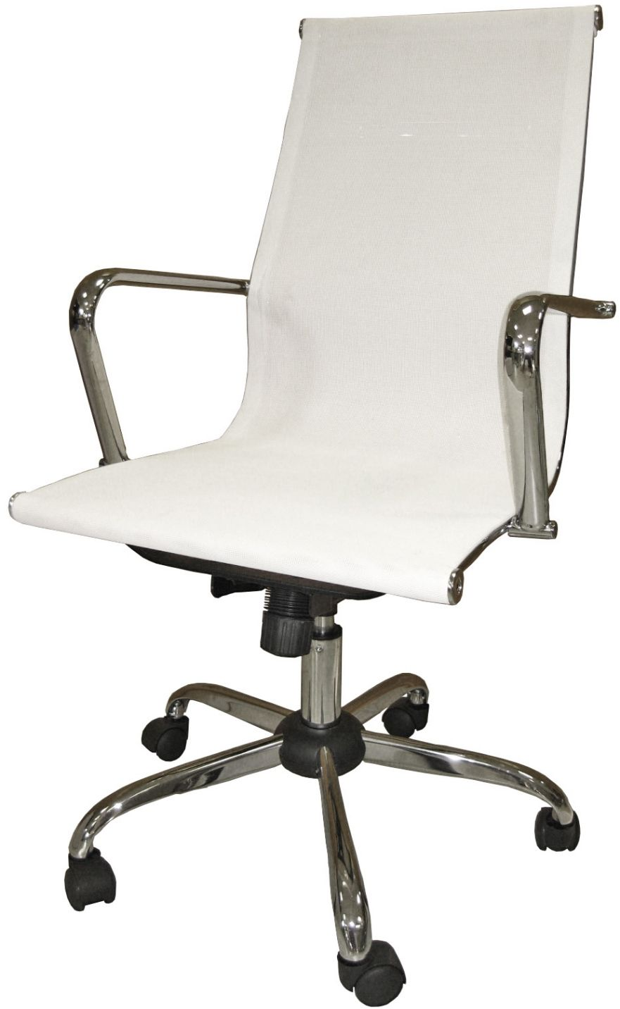 Cadeira Escritório Mesh Presidente Branca