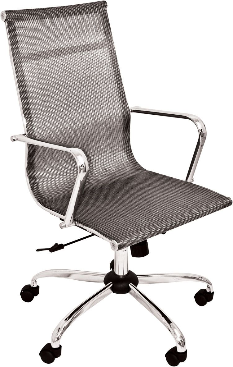 Cadeira Escritório Mesh Presidente Cinza