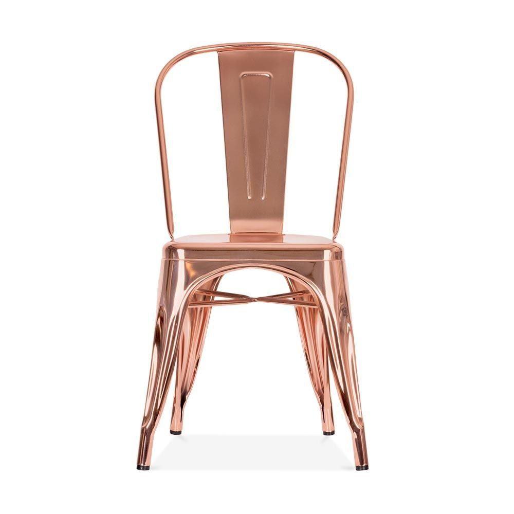 Cadeira Tolix |  Cobre