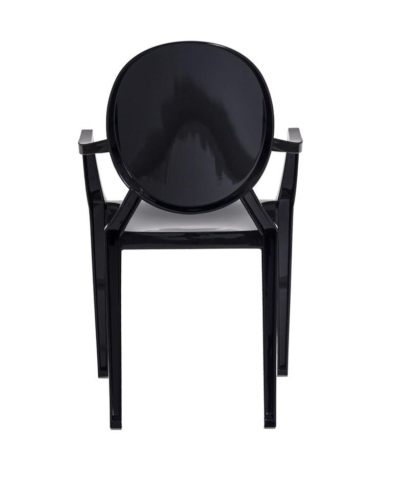 Cadeira Louis Ghost Preta