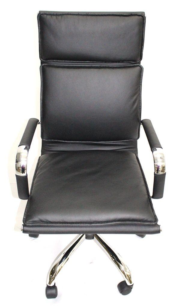 Cadeira Presidente Madrid Preta, Caramelo