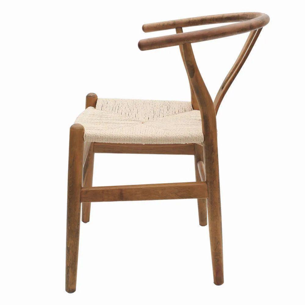 Cadeira Wishbone Valentina         Madeira Carvalho