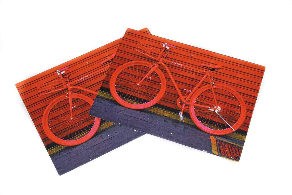 Jogo Americano bicicleta