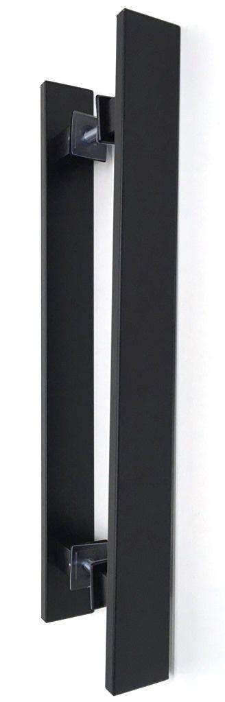 Puxador Preto em Alumínio - Geris - Diversos Tamanhos