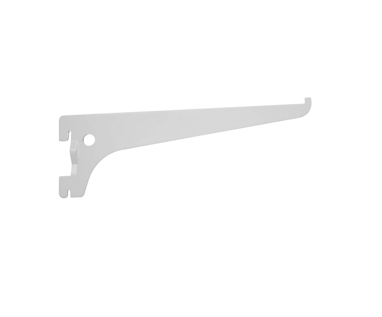 Suporte para Trilho Aço Branco 30 cm Zamar