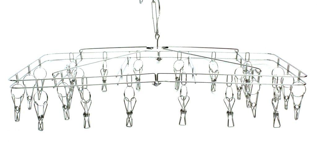 Varal para roupas íntimas em Aço Inox