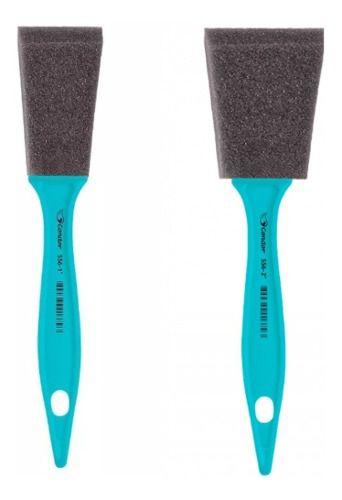 2 Pincéis Detail Espuma Condor Tam 1 E 2