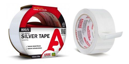 Fita Silver Tape 45mm X 5m Comp. Adere