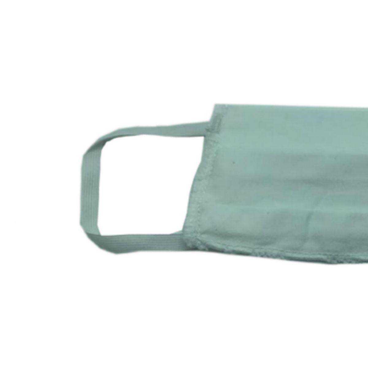 10 Máscaras Reutilizáveis Proteção Respiratória Branco