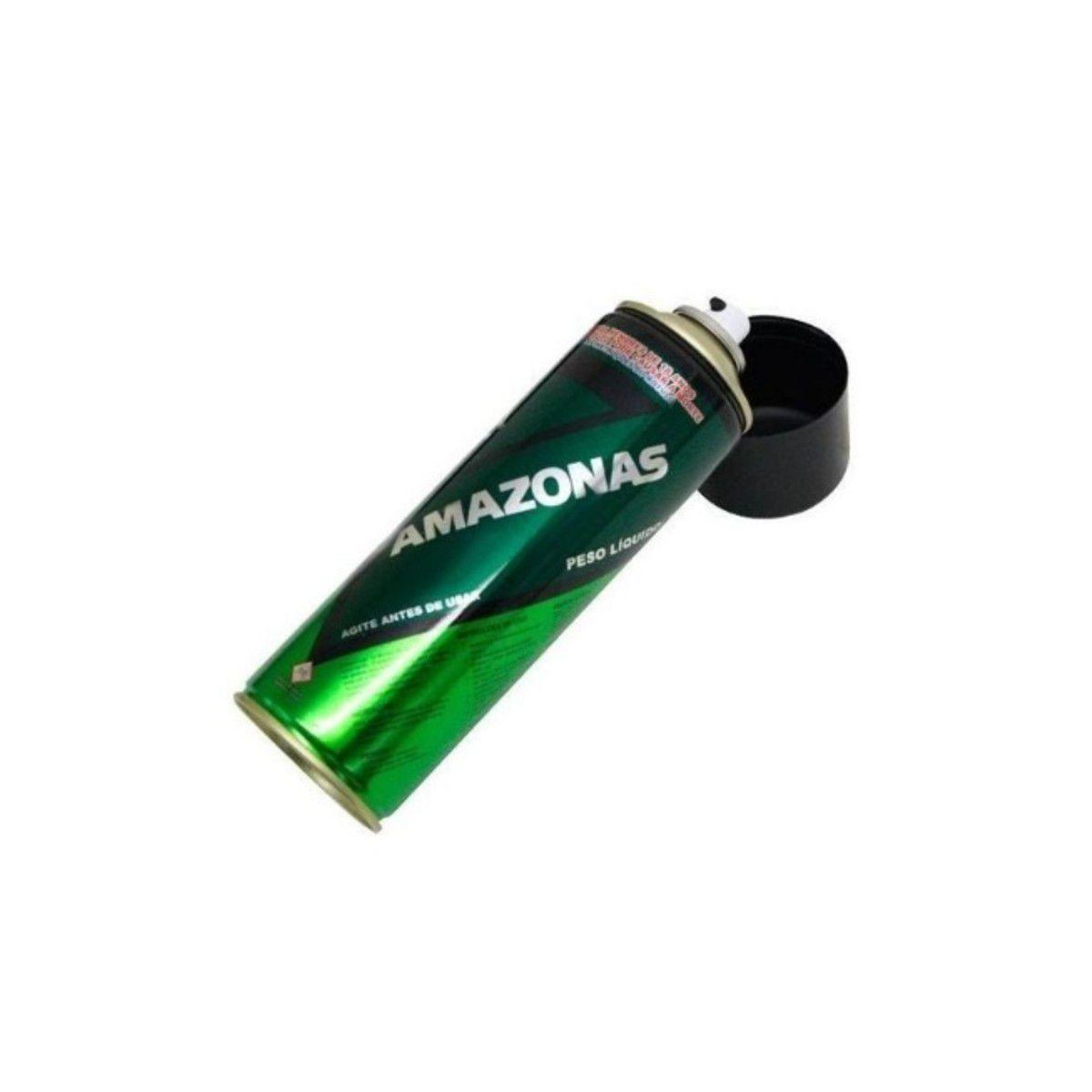 12 Cola De Contato Spray Amazonas 340g Tapeceiro