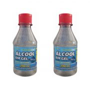 2 uni Álcool em Gel 70% TFP 200ml
