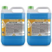 2 Uni Detergente Desincrustante Limpa Baú Prot Ativ 800 5L