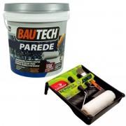 Bautech Tinta Parede Branco 12kg (Brinde Kit Pintura Condor)