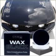 Cera Cristalizadora Wax Color Black Dark Carros Escuros
