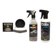 Cera Vitrica + Wax Color Black + Revelador de Holograma