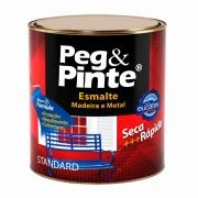 Tinta Esmalte Brilhante Eucatex Peg e Pinte 900ml (Cores)
