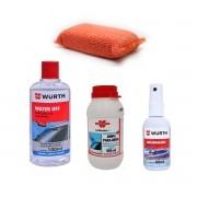 Cristalizador + Anti Embaçante + Limpa Para Brisa + Aplicador