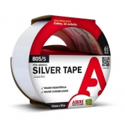 Fita Silver Tape Branca 45mm X 5m Comp. Adere