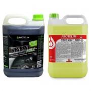 Kit Limpeza Acabamento - Prot Mult 100 5L + Brilho Max 5L