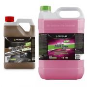 Kit Limpeza Acabamento - Prot Mult 200 5L + Brilho Max 2,2L