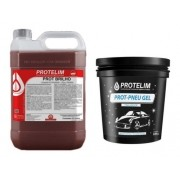 Kit Prot-brilho + Prot Pneu Gel
