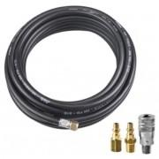 Mangueira Ar/Água Compressor (BRINDE Kit Engate Rápido)