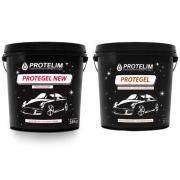 Protegel New Finalizador + Protegel Revitaliza Plásticos e Pneus 3,1kg