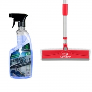 Rodo Limpa e Seca Vidro (BRINDE Limpa Vidros Spray 650ml )