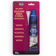 Selante SILICONE Cola e Veda Bautech 50g