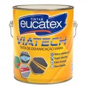 Tinta Piso Demarcação Emborrachada Viatech Eucatex 3,6L